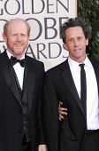 Ron Howard and Brian Grazer at the 66th Annual Golden Globe Awards. Beverly Hilton Hotel, Beverly Hi