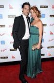 Adam Kaufman and Poppy Montgomery  at the G'Day USA Australia Week 2009 Black Tie Gala. Renaissance