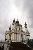 St. Andrew's Cathedral In Kiev