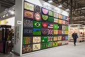 Colorful Doormats On Display At Homi, Home International Show In Milan, Italy