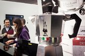Bialetti Mocha Coffee Pot At Homi, Home International Show In Milan, Italy