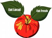 Eat Fresh and Eat Local products....