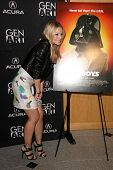Kristen Bell at the Los Angeles Special Screening of 'Fanboys'. Clarity Screening Room, Beverly Hill
