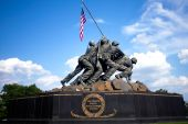 US Marines memorial