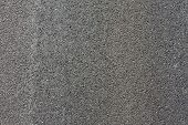 pic of tar  - grey road texture as background or texture - JPG
