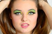 Closeup Face Photos Of Teenager