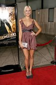 Dominika Wolski  at the Los Angeles Premiere of 'Rocknrolla'. Pacific Cinerama Dome, Hollywood, CA. 10-06-08