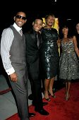 Will Smith and Tristan Wilds with Queen Latifah and Jada Pinkett Smith  at the Los Angeles Premiere of 'The Secret Life of Bees'. Academy of Motion Arts and Science's, Beverly Hills, CA. 10-06-08