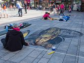 Street Painting In 3D