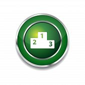 Score Board Circular Vector Green Web Icon Button