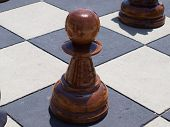 Stand Up Chess Piece