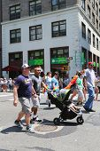 LGBT Pride Parade participants in New York City