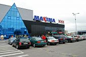 Maxima Shop Center In Vilnius City Ukmerges Street