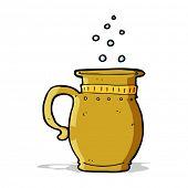 cartoon beer tankard