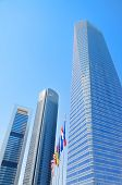 Madrid, Spain-4 May: Cuatro Torres Financial Center In Madrid On 4 May, 2013.