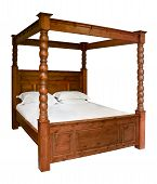 Traditional Four Poster Bed