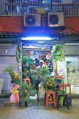 Flower shop China Town Kuala Lumpur