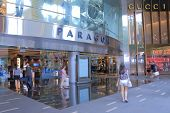 Paragon Shopping mall Orchard road Singapore