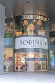 Robinsons Shopping centre Orchard road Singapore