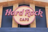 Hard Rock Cafe logo singapore