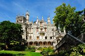 Facade Of  The Main House, Quinta Da Regaleira