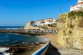 Ericeira Harbor On The Coast Of Portugal