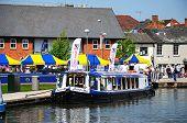 Pleasure boat, Stratford-upon-Avon.