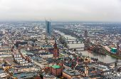 View Of Frankfurt Am Main - Hesse, Germany