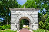 Historic Arched Entry To Camp Randall Stadium