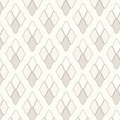 Seamless Vector Two Tone Geometric Pattern Background