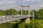 Cable-stayed Bridge In Tours - France, Region Centre