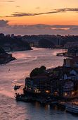 Sunset Over Porto - Portugal