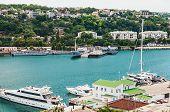 Yards And Docks Shipyard In Sevastopo