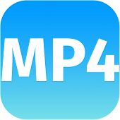 Mp4 Blue Download Icon