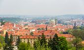 View Of Mala Strana In Prague, Czech Republic