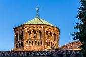 Cupola Of Basilica Di Sant'ambrogio In Milan