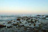 The Coast Of Anzio With The Rough Sea