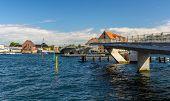 Unfinished Inner Harbor Bridge In Copenhagen