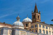 Basilica Di Santa Maria Del Popolo In Rome, Italy