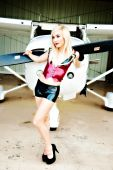 picture of boyshorts  - Fly the friendly skies - JPG