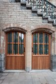 stock photo of gents  - Two doors under the St - JPG