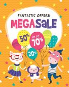 Mega Sale Poster Design