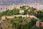 Castle In Alanya, Turkey