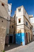 Narrow Streets Of Old Medina Of Tangier, Morocco