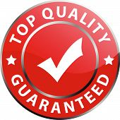 top quality guaranteed label (vector)