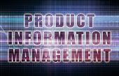 Product Information Management or PIM System on Chart