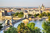 Panoramic view of Budapest, Hungary