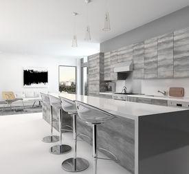 foto of stool  - Rustic gray style wooden open - JPG