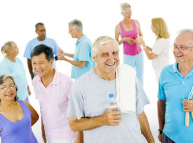pic of senior class  - Senior Adult staying fit - JPG
