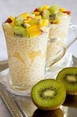 Thai tapioca pudding